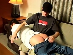 Gay masculine spanking enema movie and..