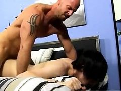 Gay romp with under pants Horny young..