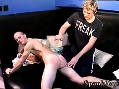 Twink spanking by doctor and men fag..